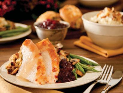 Catered Holiday Turkey Feast