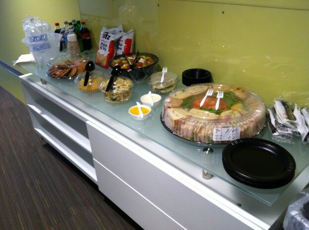 Office Catering Set Up